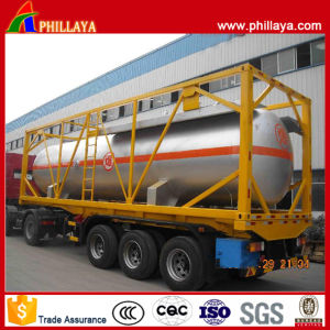 Hot Sale 20ft or 40ft LPG Tank Container pictures & photos