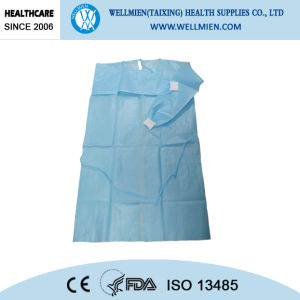 Disposable Nonwoven Medical Gown/Non Woven Surgical Gowns pictures & photos
