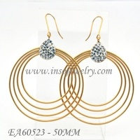 Fashion Jewelry Stainless Steel Earrings (EA60523)