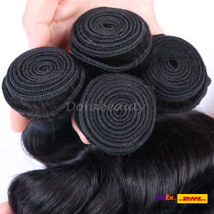 New Peruvian Loose Wave Pure Human Virgin Hair Bundles pictures & photos