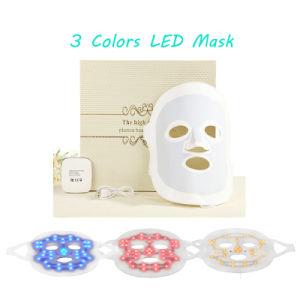 Facial Care Acne Spot Removal Mask, Anti Aging and Pigmenation Corrector 3 Colour Photon LED Skin Rejuvenation LED Face Mask Face Beauty Mask pictures & photos