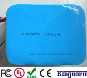 12V10ah LiFePO4 Battery for Electric Bike Scooter pictures & photos