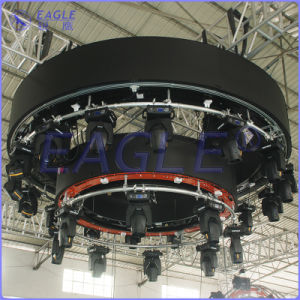 Hotsale Rotate Moving Vertical Lifting/Drop Aluminum Circle Truss with DMX-512 Wireless Control (3M)