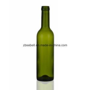 Green 375ml Wine Bottle Cork Top, Screw Top pictures & photos