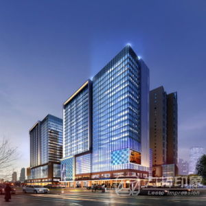 Exterior Design 3D Architectural Rendering