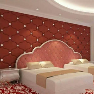 3D Acoustic Wall Panel Decorative Panel Cladding Construction Building Decoration Material Sound Absorption pictures & photos