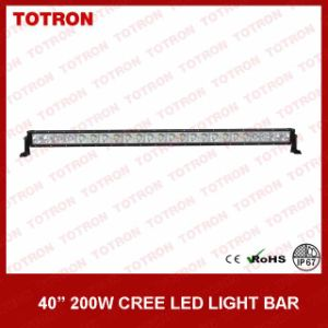 off Road LED Light Bar Single Row with CREE LEDs
