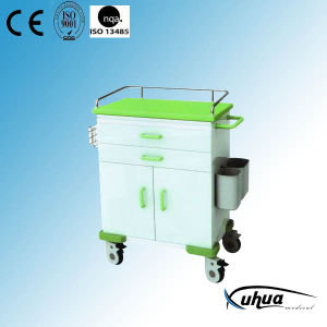 High Quality Hospital Medical Treatment Trolley (N-22) pictures & photos