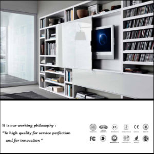 White Color High Glossy TV Cabinet (ZH-2037) pictures & photos