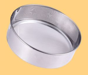 Cheap Price Stainless Steel Flour Sieve (HY-010) pictures & photos