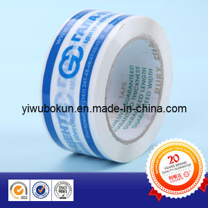 Printed Packaging Tape, Hot Melt BOPP Tape, BOPP Packaging Tape pictures & photos