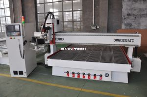 Omn 2030 Carrousel Type Wood Working Atc CNC Router pictures & photos