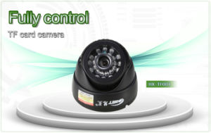"1/4"" CMOS 0.3 Megapixel USB Dome CCTV Camera with Memory Card pictures & photos"