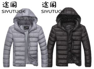 Mens Down Hoody Fashion Casual Winter Jacket pictures & photos