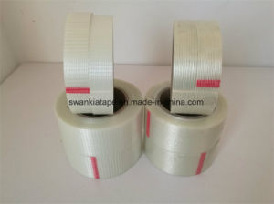 Factory Price BOPP (Meshy) Reinforced Fiberglass Adhesive Tape/Fiberglass Tape pictures & photos