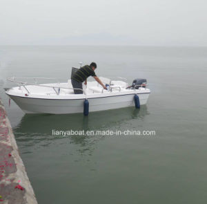 Liya 4.2m 5.1m China Small Fiberglass Fishing Boat Fishing Vessel for Sale pictures & photos