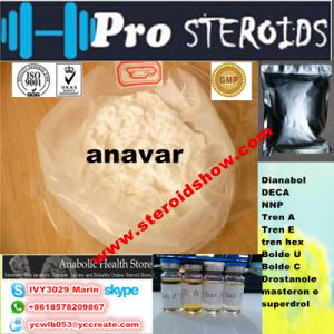 Safely White Powder Oxandrolo / Anavar 53-39-4 Sex Drugs Oral Anabolic Steroids pictures & photos