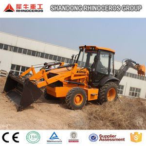 0.8 1.2m3 Bucket Capacity Backhoe Loader 7ton Lawn Tractor Backhoe Loader pictures & photos