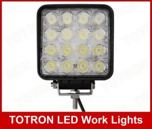 Totron 9-32 V DC 16LEDs 48W LED Work Light with Magnet Base pictures & photos