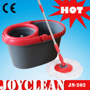 Joyclean Pedal Free CE Approved Spin Mop (JN-202) pictures & photos