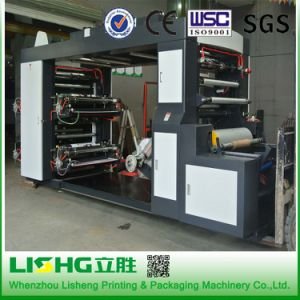 Ytb-41200 High Technology LDPE Film Plastic Bag Flexo Printing Machinery pictures & photos