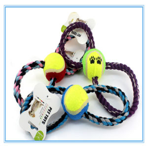Pet Products Toy Dog Training Molar Teeth Cotton Rope Ball Resistance to Bite Toy pictures & photos