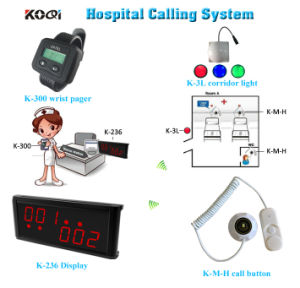 Emergency Call System Wirst Watch Display with Hand Shack Buttons for Hosptial pictures & photos