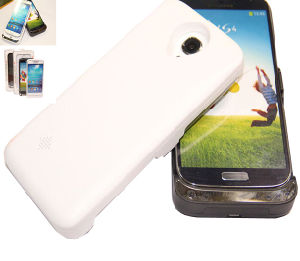 Hot Selling Best Quality 3600mAh Black&White Battery Case for Samsung S4 I9500 pictures & photos