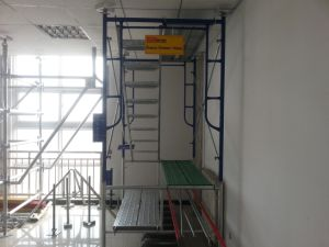 "5′x6′4"" Walk Through System Frame Scaffold pictures & photos"