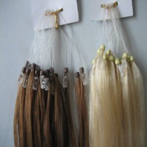 Raw Virgin Indian Micro Loop Extensions Kinky Straight Hair Extension