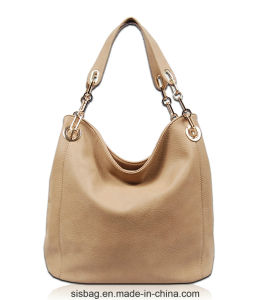 New Fashion Metal Chain Shoulder Bag PU Hobo Bag pictures & photos