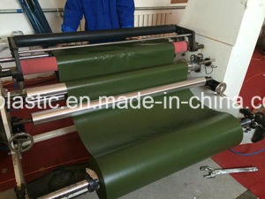 PVC Film with Olive Green for Tape pictures & photos
