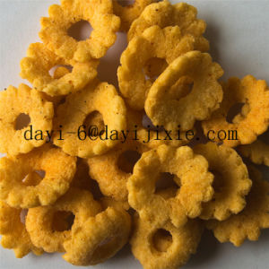 Puffed Corn Wheat Snacks Food Corn Puffs Extruder Machine pictures & photos