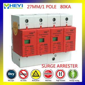 80ka 420V 4pole Low Voltage Surge Arrester pictures & photos