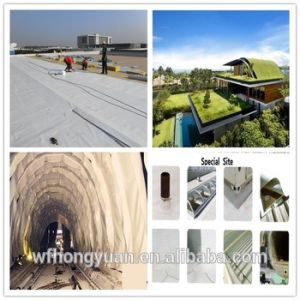 Waterproof Membrane Type The PVC Waterproofing Plastic Membrane pictures & photos
