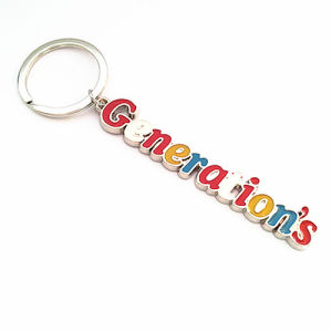 Promotion Generation′s Metal Key Ring with Color Logo (F1125)