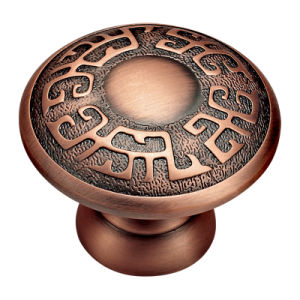Classic Copper Style Forged Brass Drawer Pull Handle and Knob pictures & photos