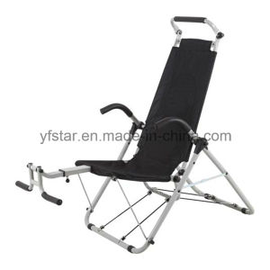High Quality Folding Fitness Machine Ab Exercise Chair pictures & photos