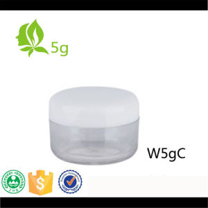 5g Small Round Cosmetic Glass Cream Jar/ Eye Shadow Jar pictures & photos