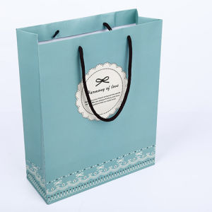 Resuable Paper Shopping Gift Bags for Garments (FLP-8946) pictures & photos