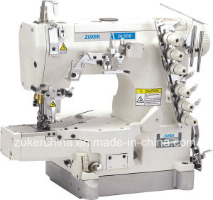 Zuker High Speed Pegasus Cylinder Flat Bed Interlock Sewing Machine (ZK600-01 CB)