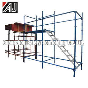 Hot Sale Africa! ! ! Q235 Steel Quick Lock Scaffold System (001) Mainly Used to Support Concrete Walls, Slab Beam pictures & photos