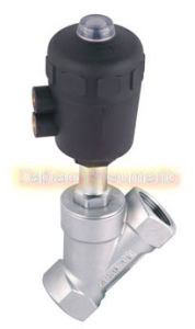 1.5′′ Jzf Series Multi Medium 2 Way Pneumatic Stainless Angle Seat Valve with Actuator Jzf-40 pictures & photos