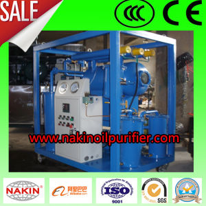 Single Stage Vacuum Transformer Oil Purifier Machine, Oil Recycling Plant pictures & photos