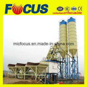 Hot Sale Hzs75 Climb Bucket Concrete Batching Plant pictures & photos