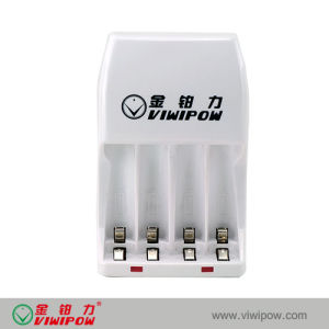 New Style 4 Slots Standard Charger for AAA Ni-MH Battery (VIP-C005A)