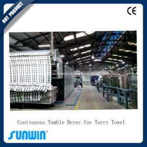 Continuous Tumble Dryer for Terry Towel pictures & photos