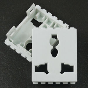 Plastic Injection Molding Parts OEM Extension Power Socket Board pictures & photos