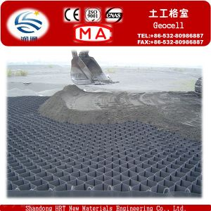 Grass Seed 50mm--200mm Cell HDPE Smooth Plastic Geocell pictures & photos