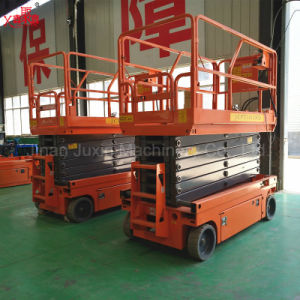 China Factory Supply Self Propelled Window Cleaning Scissor Lift Ladder pictures & photos
